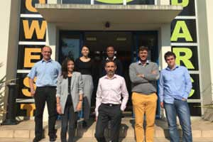 Bordeaux Technowest the incubator for innovative companies specializing in aeronautics-space-defense welcomes Delfox